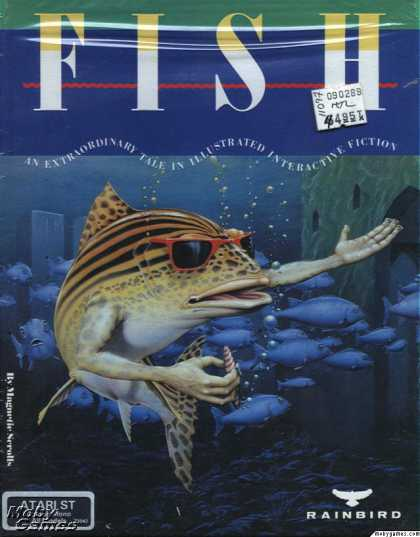 Atari ST Games - Fish!