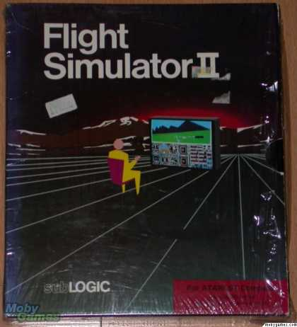 Atari ST Games - Flight Simulator II