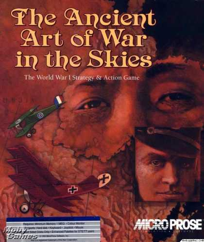 Atari ST Games - The Ancient Art of War in the Skies