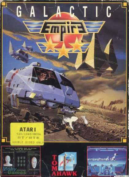 Atari ST Games - Galactic Empire