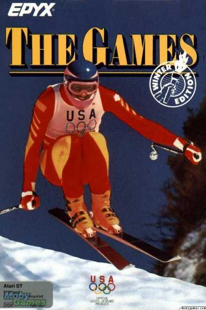 Atari ST Games - The Games: Winter Edition