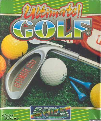 Atari ST Games - Greg Norman's Ultimate Golf