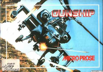 Atari ST Games - Gunship