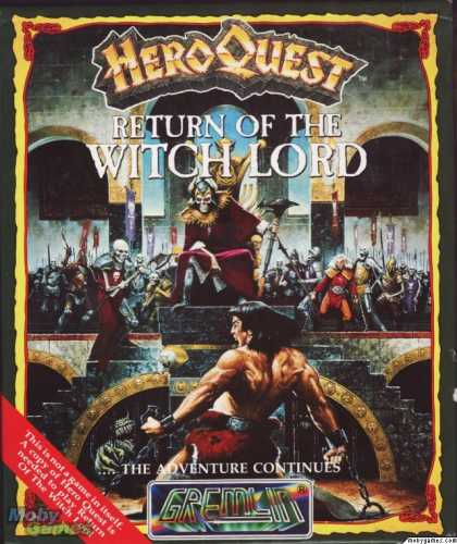 Atari ST Games - Hero Quest: Return of the Witch Lord