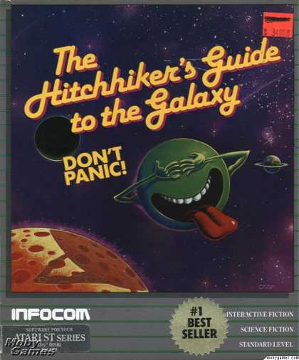 Atari ST Games - The Hitchhiker's Guide to the Galaxy