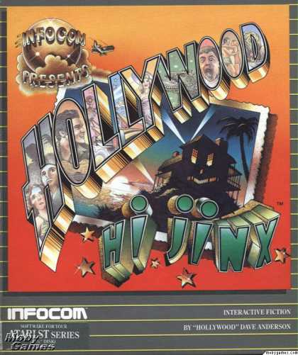 Atari ST Games - Hollywood Hijinx