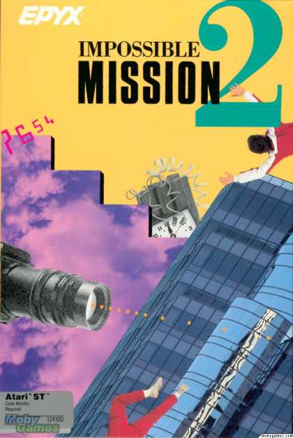 Atari ST Games - Impossible Mission II