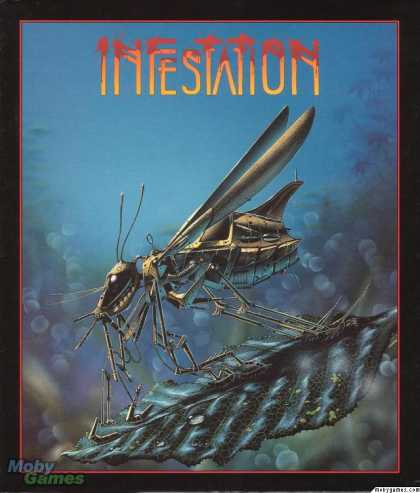 Atari ST Games - Infestation