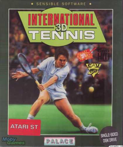 Atari ST Games - International 3D Tennis