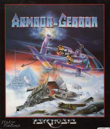 Atari ST Games - Armour-Geddon