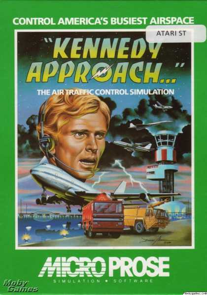 Atari ST Games - Kennedy Approach