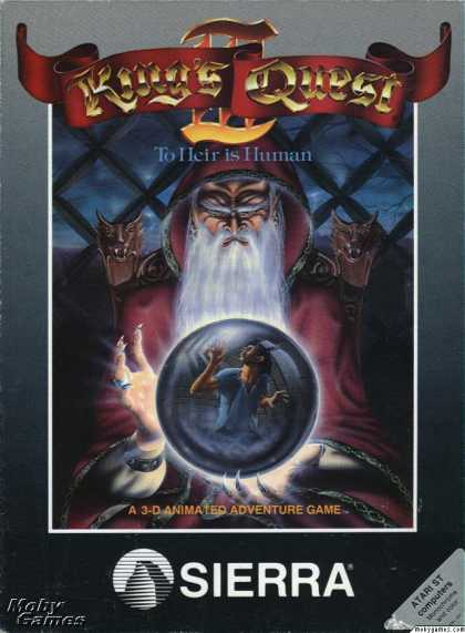 Atari ST Games - King's Quest III: To Heir is Human