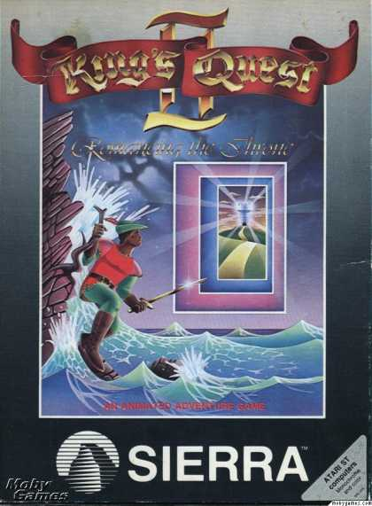 Atari ST Games - King's Quest II: Romancing the Throne