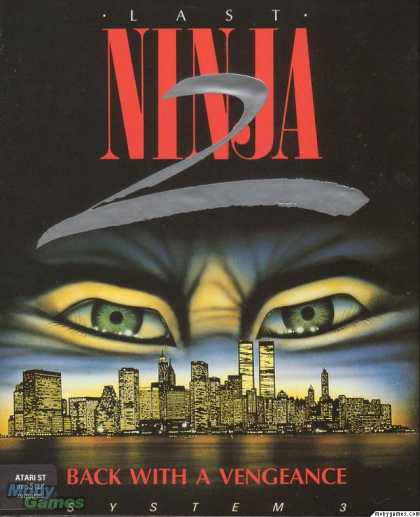 Atari ST Games - Last Ninja 2: Back with a Vengeance