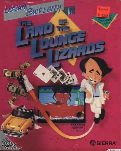 Atari ST Games - Leisure Suit Larry in the Land of the Lounge Lizards