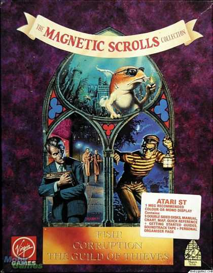 Atari ST Games - The Magnetic Scrolls Collection