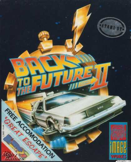Atari ST Games - Back to the Future Part II