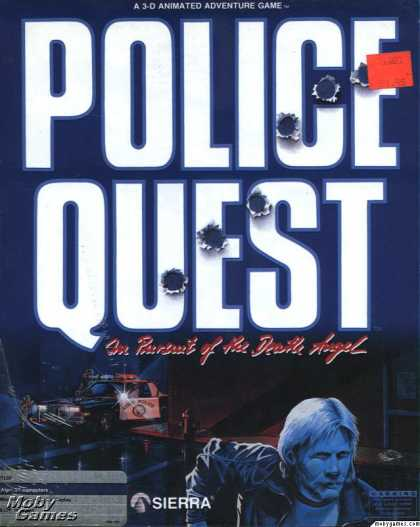 Atari ST Games - Police Quest: In Pursuit of the Death Angel