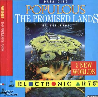 Atari ST Games - Populous: The Promised Lands