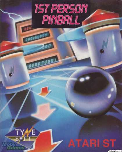 Atari ST Games - 1st Person Pinball