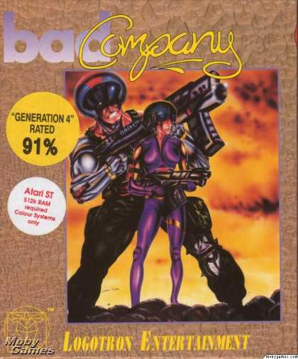 Atari ST Games - Bad Company