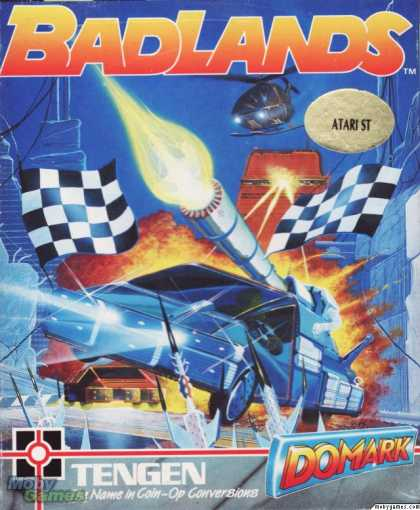 Atari ST Games - Badlands