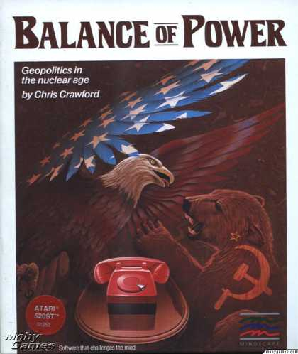 Atari ST Games - Balance of Power