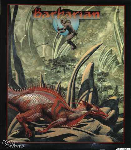 Atari ST Games - Barbarian