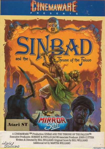 Atari ST Games - Sinbad and the Throne of the Falcon