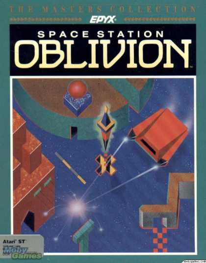Atari ST Games - Space Station Oblivion