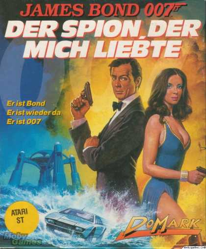 Atari ST Games - The Spy Who Loved Me