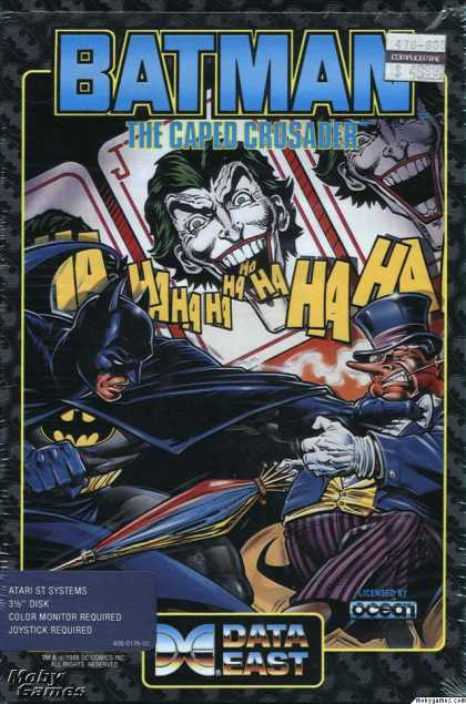 Atari ST Games - Batman: The Caped Crusader