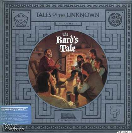Atari ST Games - Tales of the Unknown, Volume I: The Bard's Tale