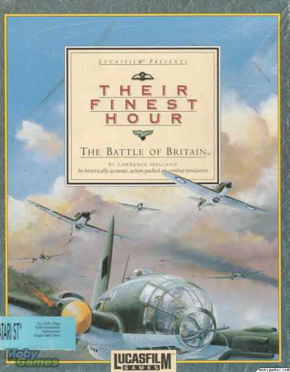 Atari ST Games - Their Finest Hour: The Battle of Britain