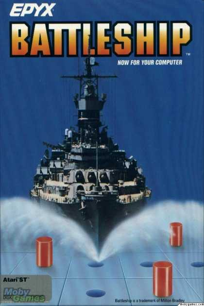 Atari ST Games - Battleship
