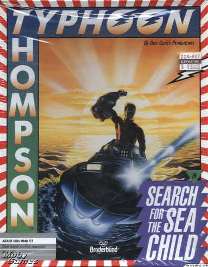 Atari ST Games - Typhoon Thompson in Search for the Sea Child