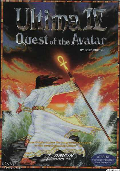 Atari ST Games - Ultima IV: Quest of the Avatar