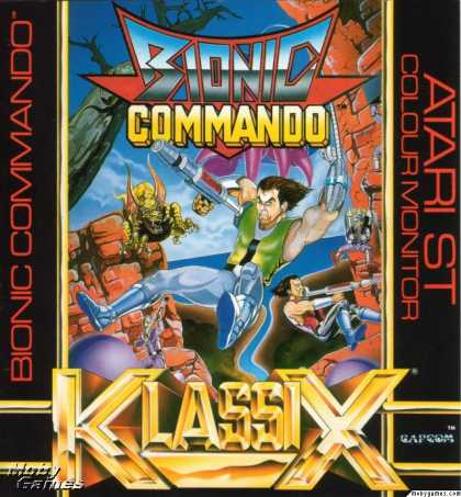 Atari ST Games - Bionic Commando