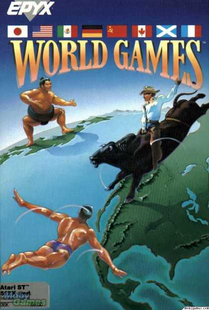 Atari ST Games - World Games