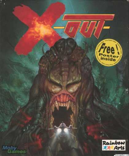 Atari ST Games - X-Out