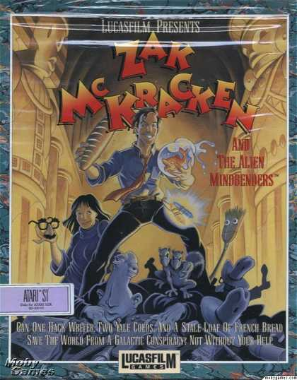 Atari ST Games - Zak McKracken and the Alien Mindbenders