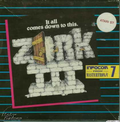 Atari ST Games - Zork III: The Dungeon Master