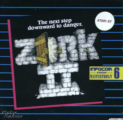 Atari ST Games - Zork II: The Wizard of Frobozz