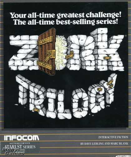Atari ST Games - Zork Trilogy