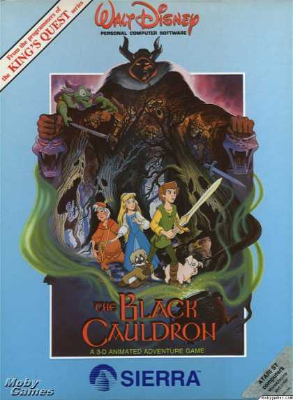 Atari ST Games - The Black Cauldron