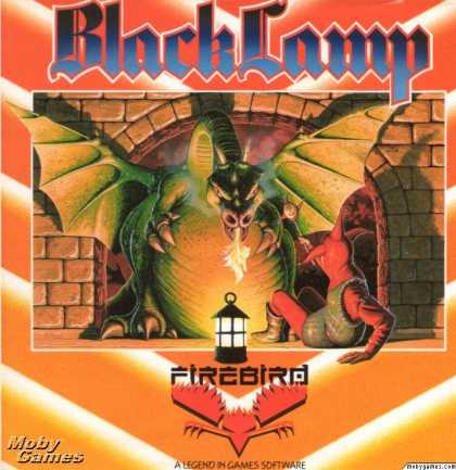 Atari ST Games - Black Lamp