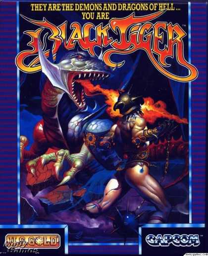 Atari ST Games - Black Tiger
