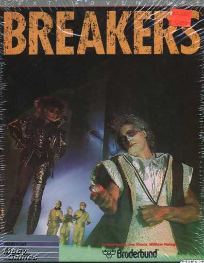 Atari ST Games - Breakers