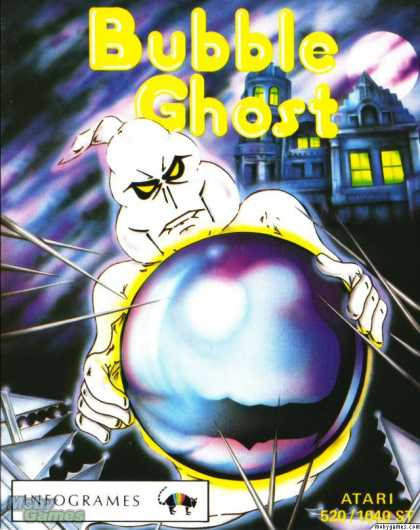 Atari ST Games - Bubble Ghost