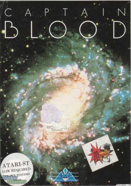 Atari ST Games - Captain Blood